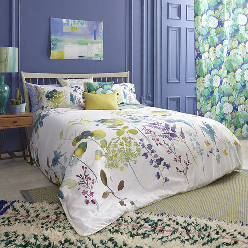 Bluebellgray Botanical Duvet Cover Set