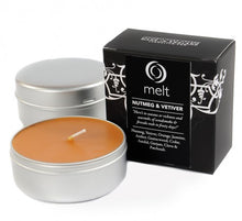 Nutmeg & Vetiver Scented Melt Candle