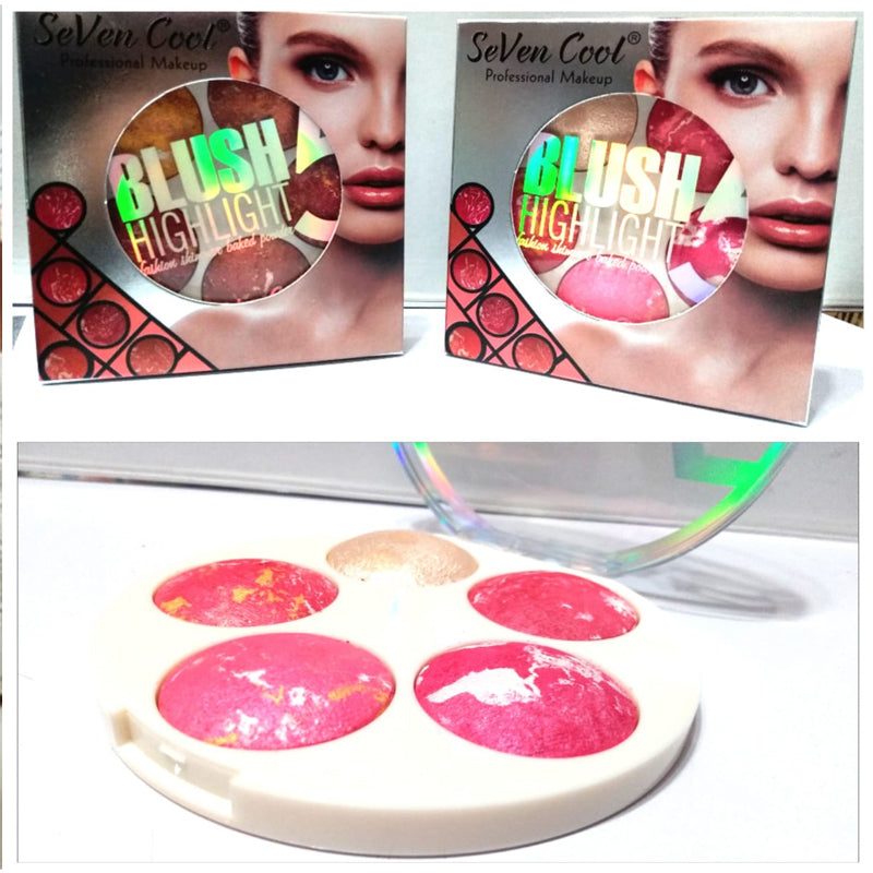 SEVEN COOL 5 in 1 BLUSH ON KIT