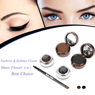 MUSIC FLOWER EYEBROW AND EYELINER CREAM