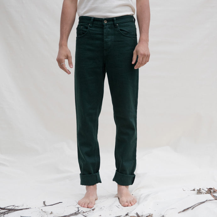 S01 Hemp Jeans - Forest