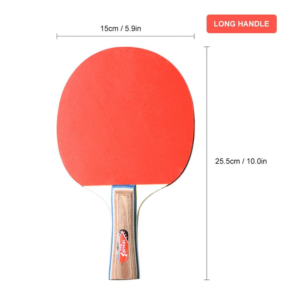 Ping Pong Racket Set With 3 Balls