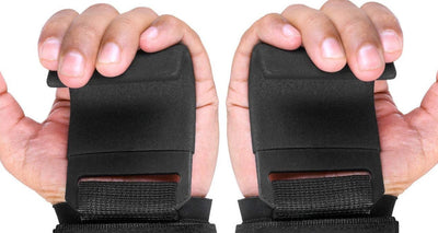 Weight Lifting Support With Wrist Wraps & Straps (Pair)