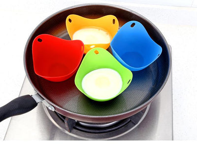Copy of Copy of Silicone Egg Poacher [Set of 4]