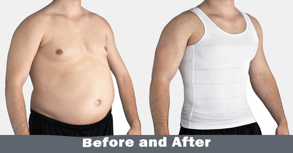 Men's Body Slimming Vest
