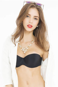 The Solid Color Breathable Invisible Bra