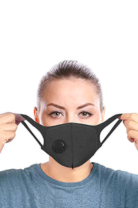 Face Mask with Breathing Valve