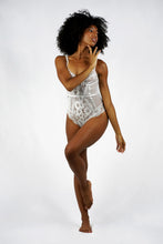Load image into Gallery viewer, Spaghetti Strap Lace Insert Bodysuit