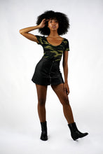 Load image into Gallery viewer, Short sleeve Camo Print Bodysuit