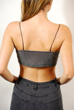 Load image into Gallery viewer, Glitter Crop Cami Top
