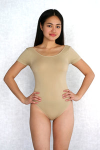 Short-sleeve Fitted Bodysuit