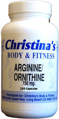 Body & Fitness L-Arginine & Ornithine 250 cap Buy 1 Get 1 FREE