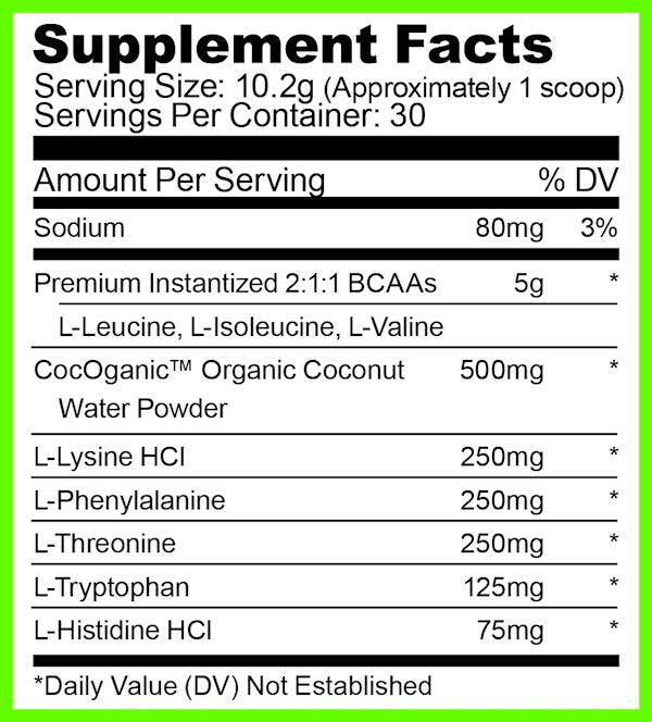 Ryse Supplements BCAA+EAA 30 servings