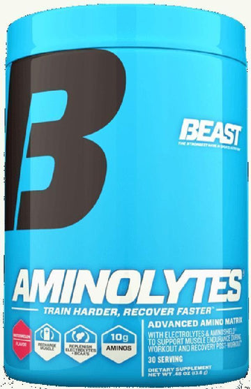 Beast Sports Nutrition Aminolytes 30 servings (Discontinue Limited Supply)