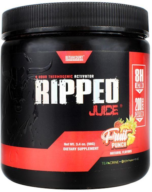 Betancourt Nutrition Carnitine Fruit Punch Betancourt Nutrition Ripped Juice Powder 30 servings