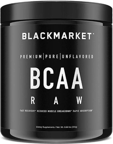 BlackMarket Labs BCAA Raw 60 servings