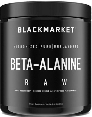 BlackMarket Labs Beta-Alanine Raw 60 servings