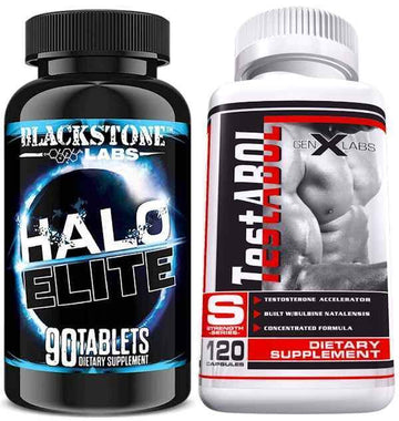 Blackstone Labs Halo Elite  with FREE GenXLabs Testabol (CLEARANCE SALE)