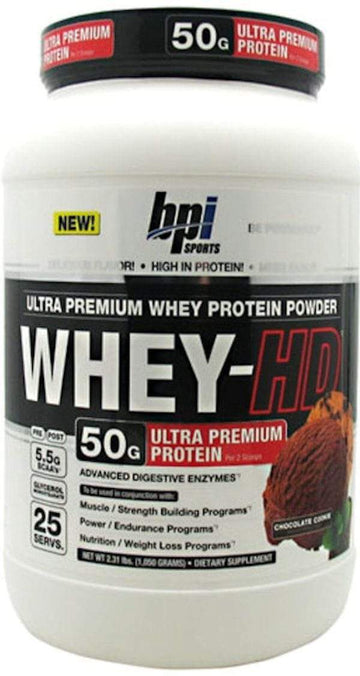 BPI Sports Whey-HD 25 servings BLOWOUT SALE $19.99