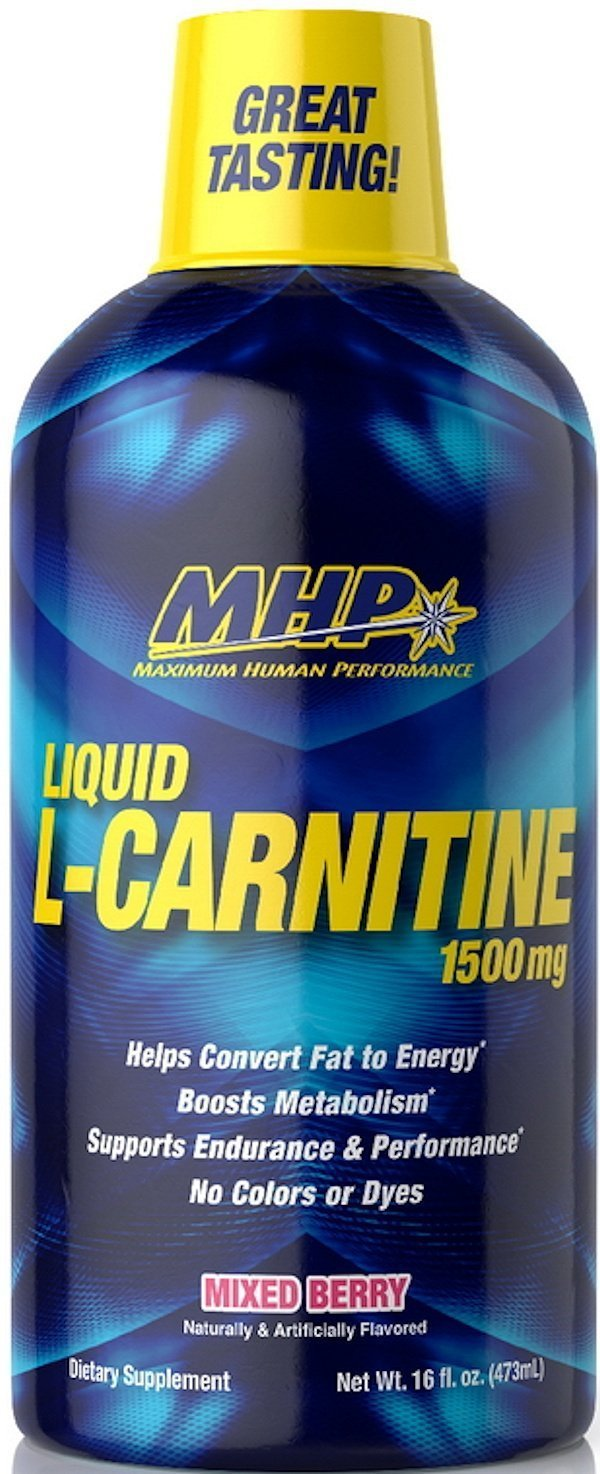 MHP Carnitine Pineapple Orange MHP L-Carnitine Liquid 16 oz