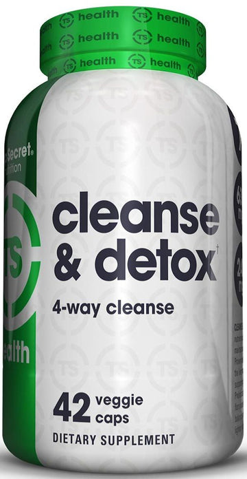 Top Secret Nutrition Cleanse And Detox 42 caps
