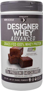 Designer Protein Protein Designed Protein Grass Fed Whey 22 servings