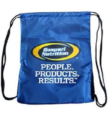 Gaspari Nutrition Drawstring Bag FREE with any Gaspari Purchase (Code: Bag)