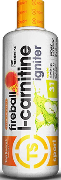 Top Secret Nutrition Fireball L-Carnitine Liquid 31 servings