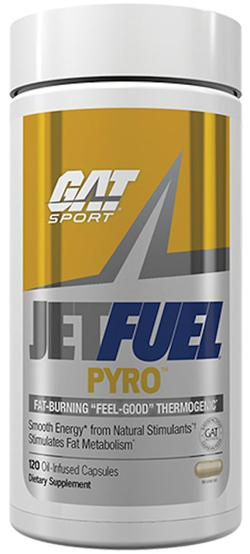 GAT Sport JetFUEL PYRO 120 Oil-Infused Caps