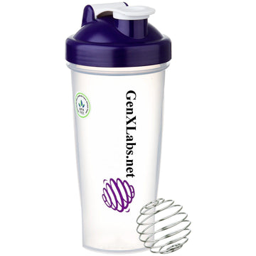 GenXLabs Blender Bottle 28 Oz
