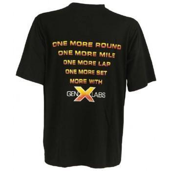 GenXLabs Men Clothing Med GenXLabs T-Shirt  One More Set