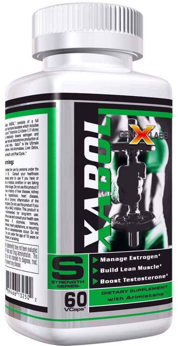 GenXLabs XABOL PCT 60ct 50% Off with any Purchase of Hardcore (Code: hardcore)