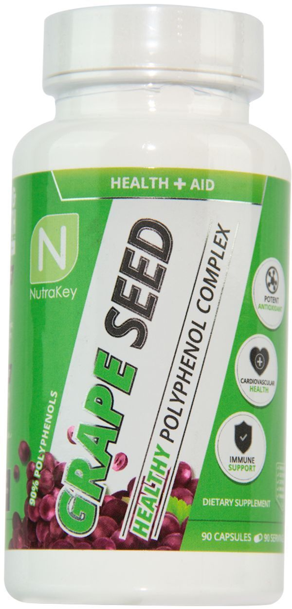 Nutrakey Antioxidant Nutrakey Grape Seed Extract 90 caps