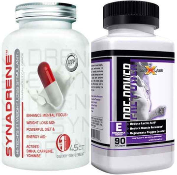 Hi-Tech Pharmaceuticals Synadrene FREE GenXLabs Pre Power