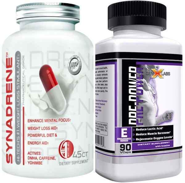 Hi-Tech Weight Management Hi-Tech Synadrene FREE GenXLabs Pre Power
