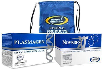 Gaspari Novedex-XT and Hi-Tech Plasmagen with FREE Back Pack CLEARANCE SALE