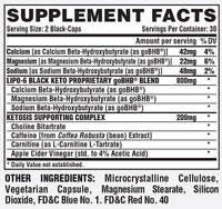 Nutrex Research Lipo-6 Keto Powder