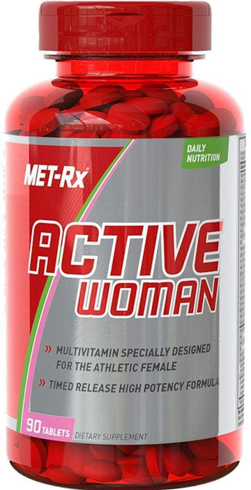 MET-Rx Active Woman Daily Multivitamin 90 tab