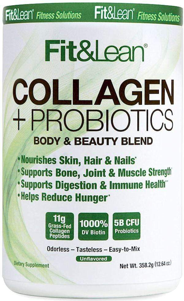 MHP Collagen MHP Fit & Lean Collagen + Probiotics 30 servings