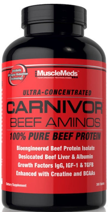MuscleMeds Carnivor Beef Aminos 300 Tabs
