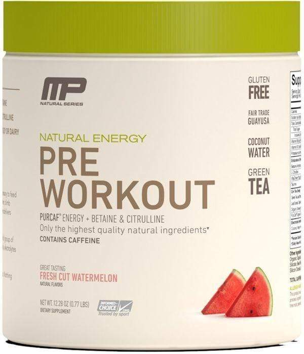 MusclePharm Watermelon MusclePharm Pre-Workout Natural 30 servings