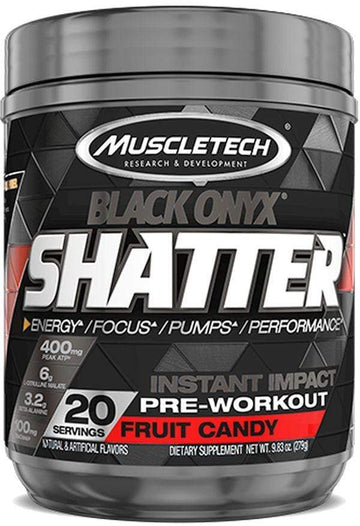 Muscletech Shatter Black Onyx 20 servings