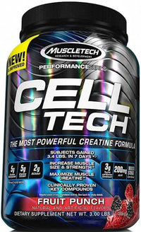 Muscletech Creatine Orange MuscleTech CELL-TECH 3lbs