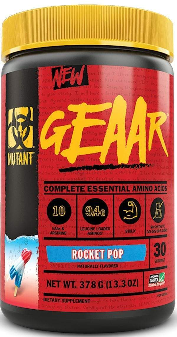 Mutant geaar bcaa Rocket Pop Mutant Nutrition Geaar 30 servings