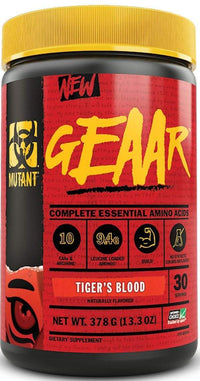 Mutant geaar bcaa Tiger's Blood Mutant Nutrition Geaar 30 servings