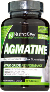 Nutrakey Muscle Pumps NutraKey Agmatine 90 caps