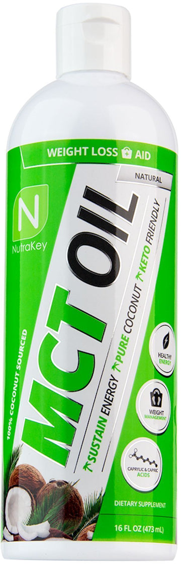 Nutrakey MCT Oil Liquid 16 oz