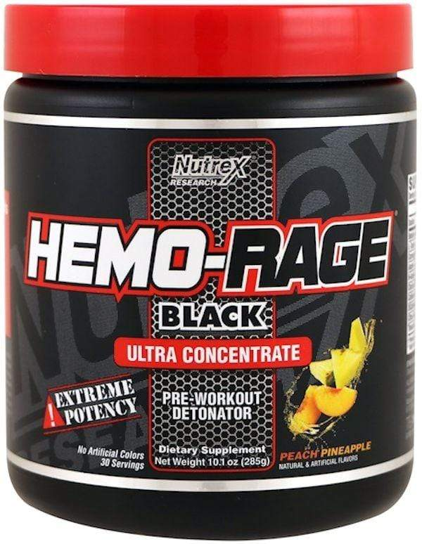 Nutrex Research Pre-Workout Nutrex Hemo-Rage Black Ultra Concentrate  (discontinue limited supply) (Code:25off)