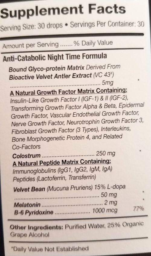 Pure Solutions Sleep Aid Pure Solutions Pure Factors Nighttime Sleep Formula (code:25off)