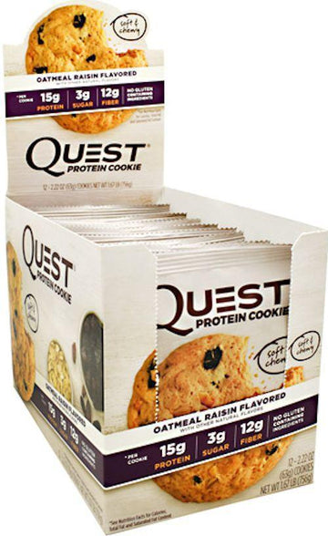 Quest Protein Cookie 12 Box